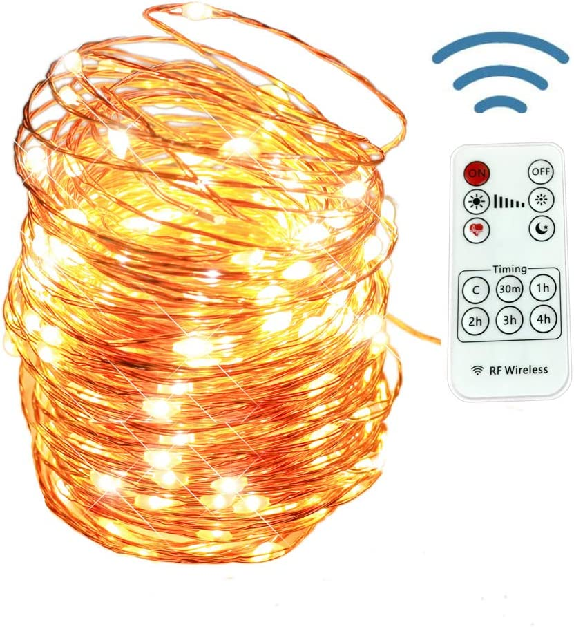 Details about  /200 LED Wire String Fairy Lights Christmas Party Light Decor USB Plug Quality