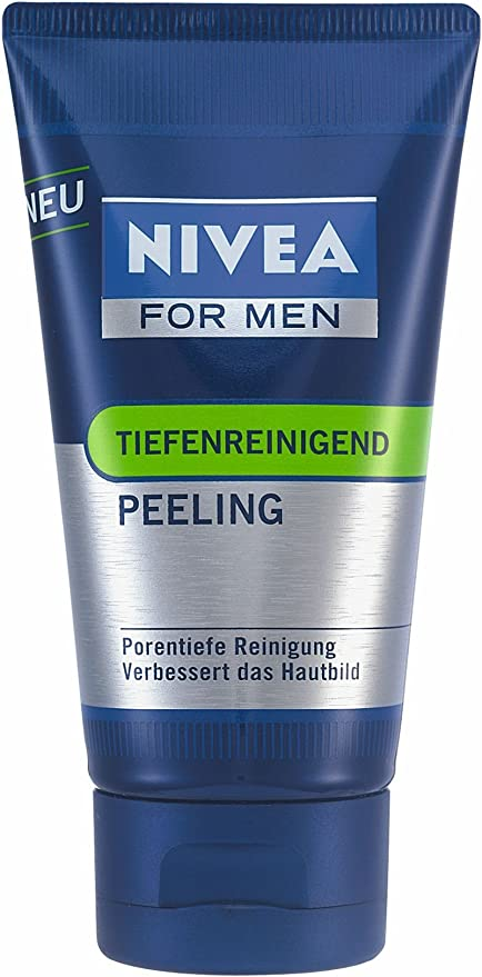 Nivea For Men tiefenreinigendes exfoliante, 75 ml, 3 Pack (3 x 75 ...