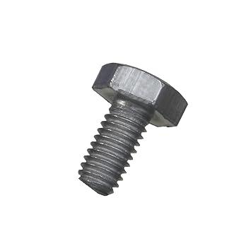 Sechskantschrauben DIN 933 Edelstahl A2 M3 verschiedene Längen