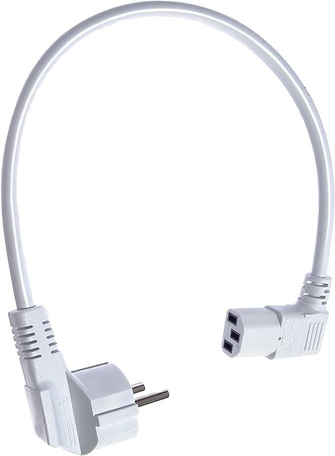 40 Cm Kurzes Stromkabel Netzkabel Für Kaltgeräte Elektronik