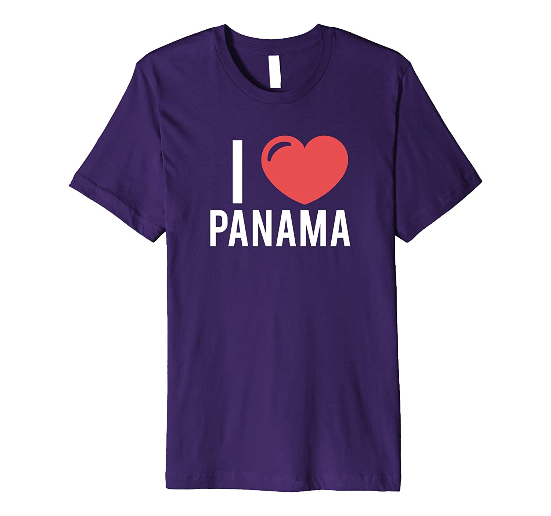 I Love Panama T Shirt Yo Amo Panama Design-TH