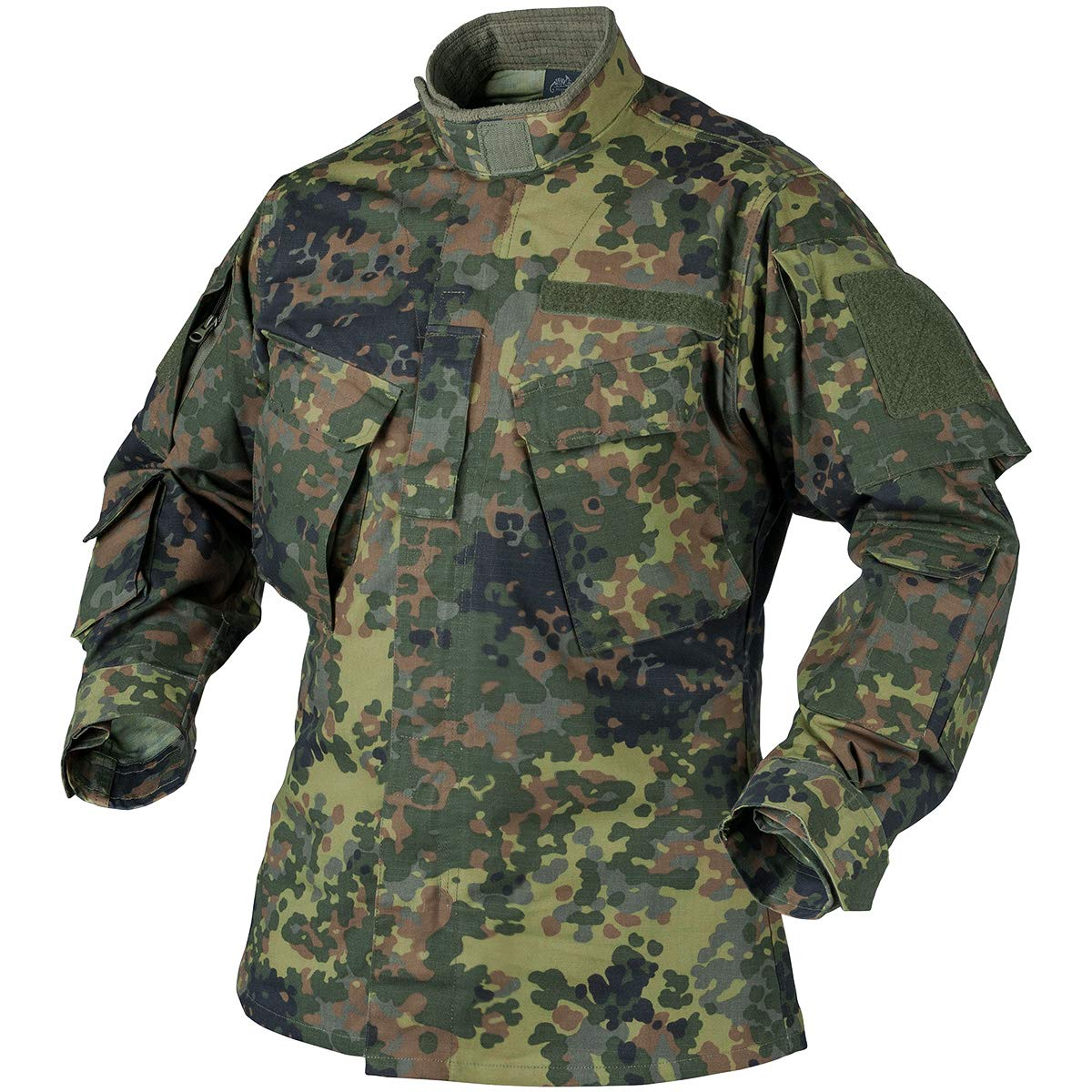 Helikon Men's CPU Shirt PolyCotton Ripstop Flecktarn
