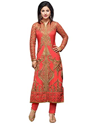 c91c049011 Dress material(Dresses for women party wear Designer Dress Material Today  offers buy online in Low Price Sale Free Size Salwar Suit Material ):  Amazon.in: ...