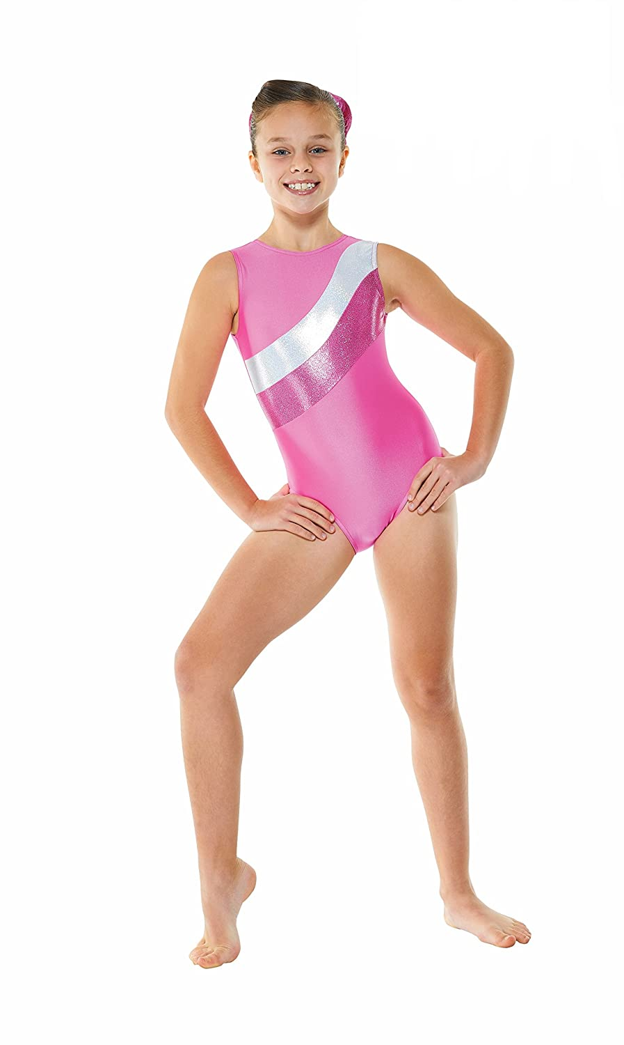 0ff19c5938bc DANCE & LEISUREWEAR Tappers & Pointers GYM/18 Sleeveless Gymnastics Leotard  - Purple Or Pink Available: Amazon.co.uk: Sports & Outdoors