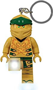 LEGO Ninjago Legacy Gold Ninja 175% Scale Minifigure LED Key Light