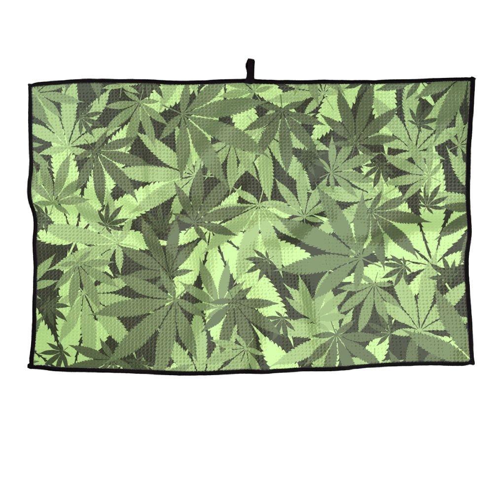 ゲームLife Marijuana Leaf Personalizedゴルフタオルマイクロファイバースポーツタオル   B07FC9PD5B