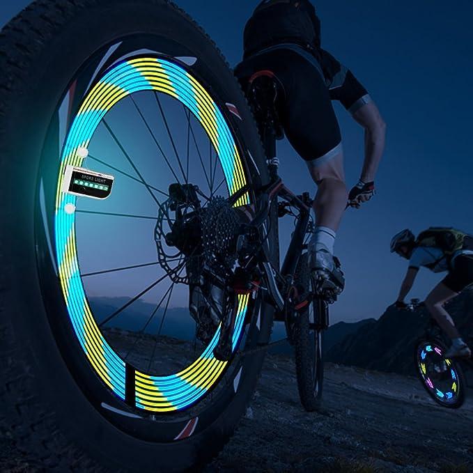 Helles Fahrrad-Rad-Lichter - Wasserdichtes 14 LED Speichen-Licht für ...