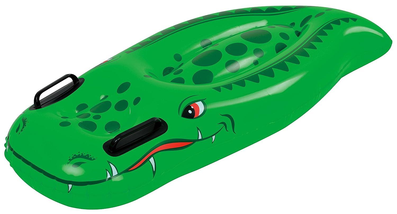 JILONG cocodrilo Waveboard XL 100 x 50 cm Hinchable Surf con ...