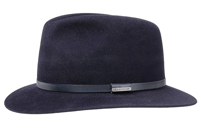 Stetson - Sombrero de Vestir - para Hombre Azul 2 - Blau 57  Amazon.es  Ropa  y accesorios 6638bb741d0