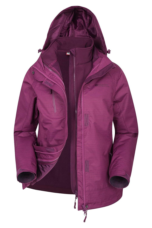 Mountain Warehouse Bracken Melange Womens 3 in 1 Jacket - Summer Coat