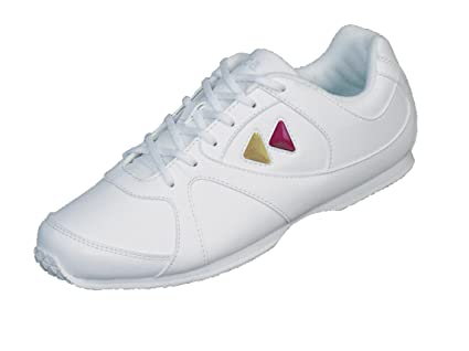 6a820056 Kaepa Women's Cheerful Cheer Shoe with Color Change Snap in Logo, White, ...