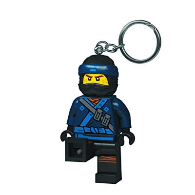 LEGO Ninjago Movie Jay LED Key Chain Light: Toys & Games