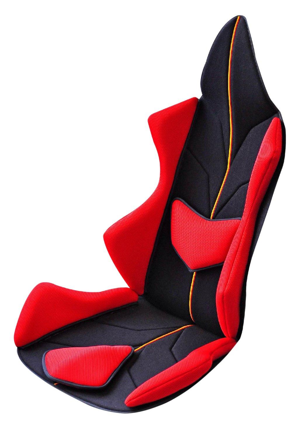 Mission Praise(ミッションプライズ) スギウラクラフト AMAZING GT (アメージングGT) シートクッション PROTECT (プロテクト) レッド/ジャーマン B01HRML9MG  レッド/ジャーマン