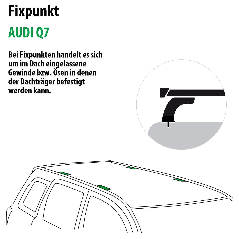Rameder Full Set Roof Rack WingBar to Audi A4/A5/Q7/128328/14159