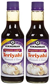 Kikkoman Roasted Garlic Teriyaki Sauce