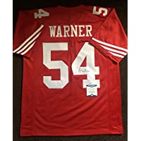$286 » Fred Warner Signed Autographed San Francisco 49ers Jersey BECKETT BAS COA 3 - Autographed NFL Jerseys