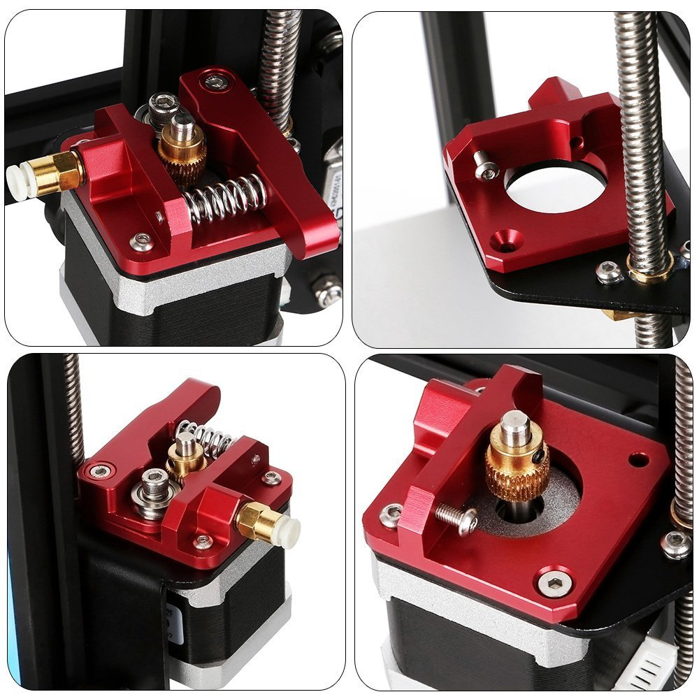 CR-10 S4 CR-10 Upgrade 3D Printer Parts MK8 Extruder Aluminum Alloy Block Bowden Extruder 1.75mm Filament for Creality 3D Ender 3,CR-7,CR-8 and CR-10 S5 CR-10S
