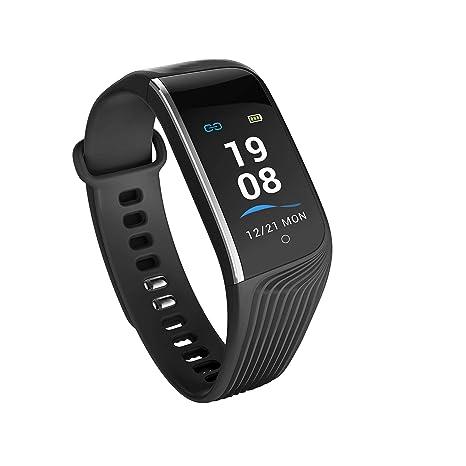 Four Fitness Tracker, La Actividad A Prueba De Agua Tracker Ritmo Cardíaco Tensiómetro, Smart