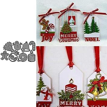 Lai LYQ Matrice de Découpe, Boule d'arbre de Cloche de Noël en