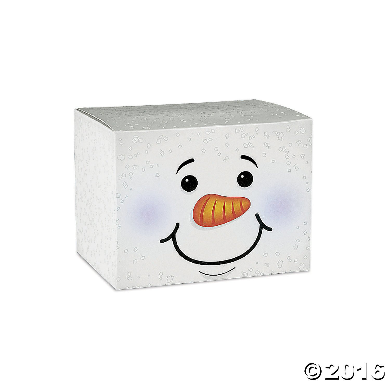 Holiday Snowman Gift Boxes