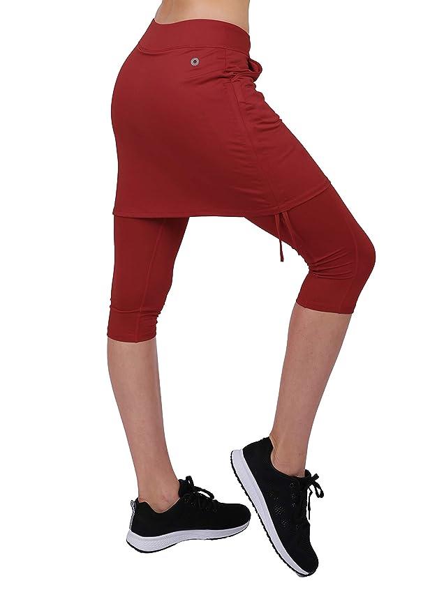 Honofash Falda Pantalón Tenis Mujer Deportivas Deporte Running Ropa Padel Golf Leggins Deporte S M L XL: Amazon.es: Ropa y accesorios