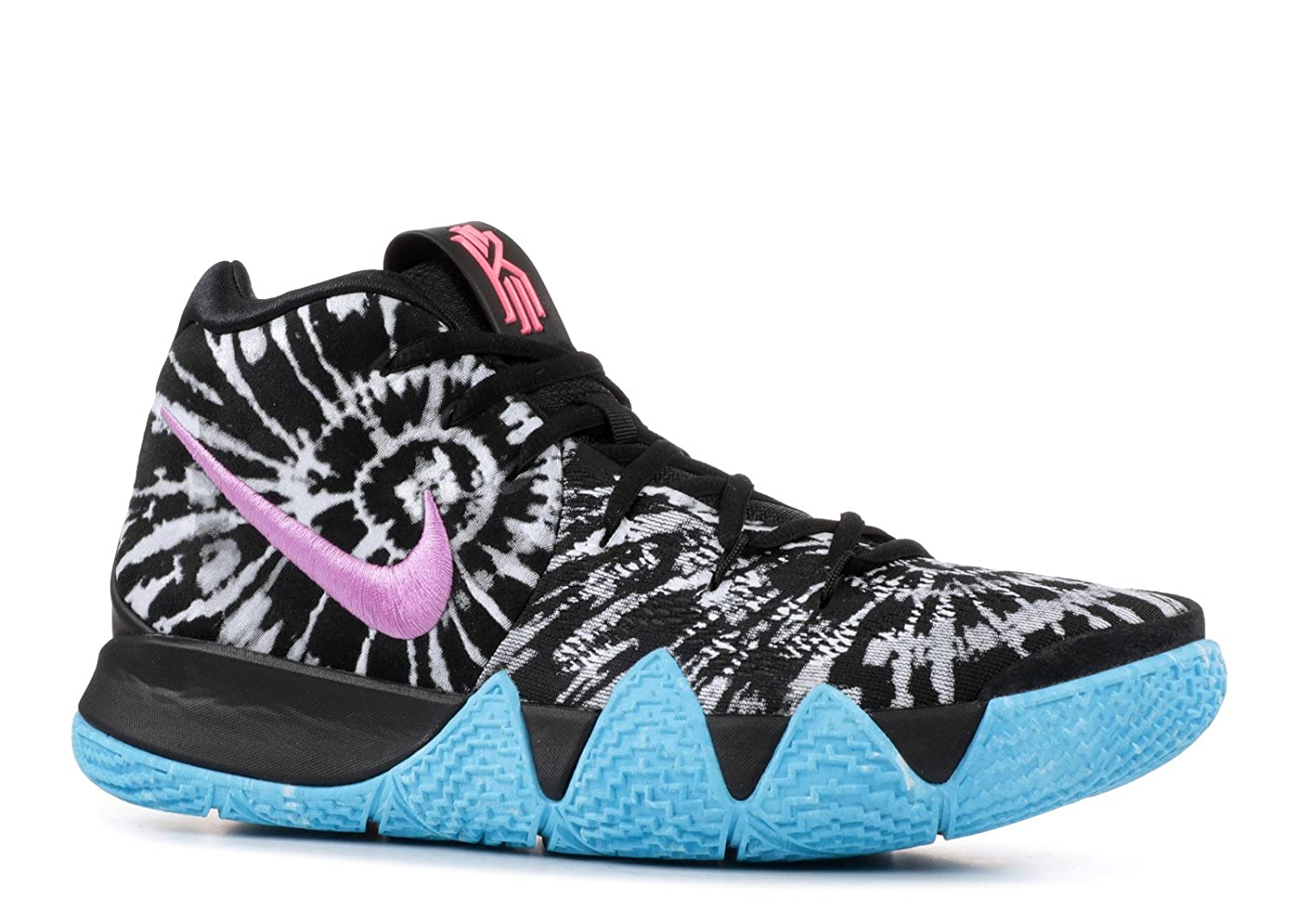 buy popular da93e c6f5c Nike Kyrie 4 AS All Star Tie Dye Irving AQ8623-001 Black/White Men's Shoes