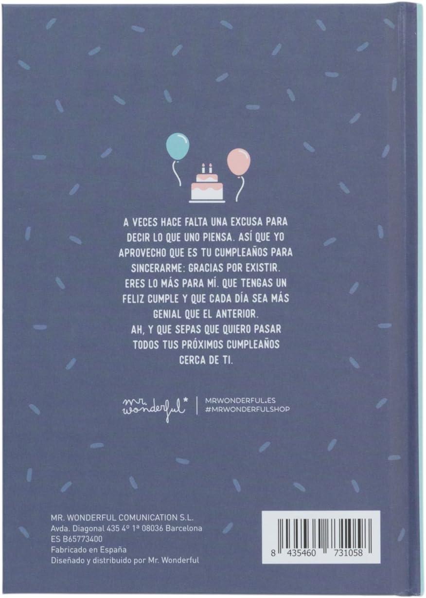 Amazon.com: Mr. Wonderful Happy Birthday Book One Person ...