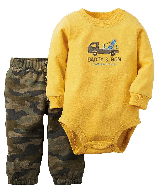 Kidsform Unisex Baby Outfit Sets Baumwolle Bodysuit 2 Pack Tops Hose Romper Kinder Pajamas KIDSFORMyonnciide345