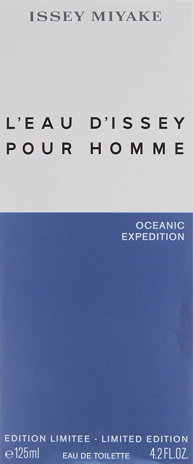 Issey Miyake L eau D issey Pour Homme Oceanic Expedition for Men, 4.2 Ounce
