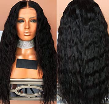 c29ba7d5e Indian Pre Plucked Full Lace Wig With Bleached Knots 150% Density Virgin  Human Hair Wigs