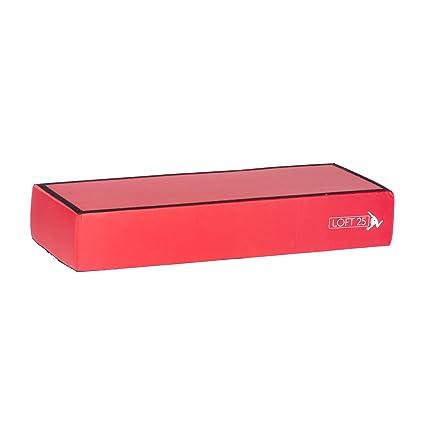 Ex Display gimnasia rojo espuma apilable Panel bloque de amplificador
