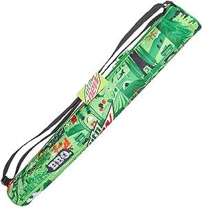 MTN DEW 6 Can Insulated Tube Cooler Soft Sling Cooler Sleeve Beverage Sling