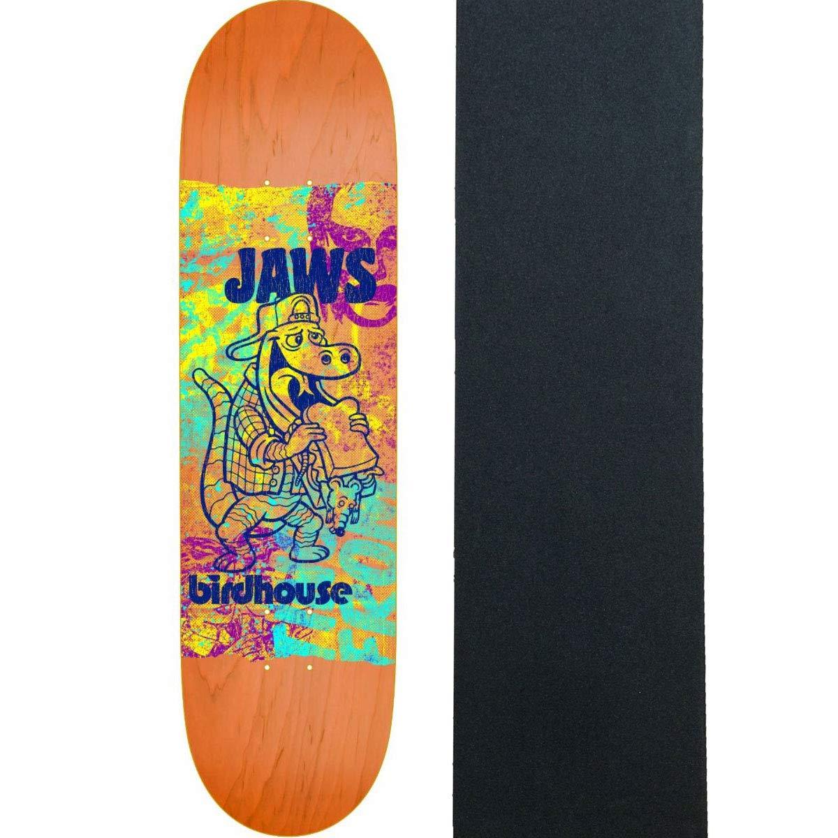 熱い販売 Birdhouse スケートボード B07PMLK29Y デッキジョーズ ショープリント 8.25インチ 8.25インチ グリップ付き B07PMLK29Y, 吉敷郡:bd03207a --- kickit.co.ke