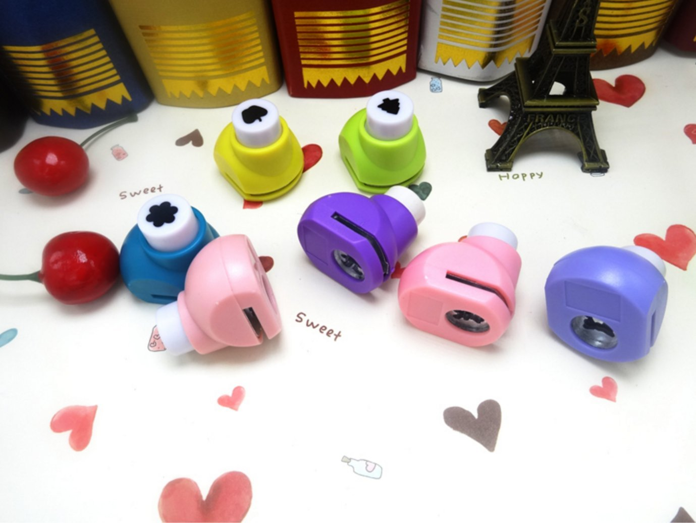 1 pack 10pcs Handmade DIY color Masking Tape Craft super cute cartoon tape / transparent plastic / cartoon version Phoenix B2C UK
