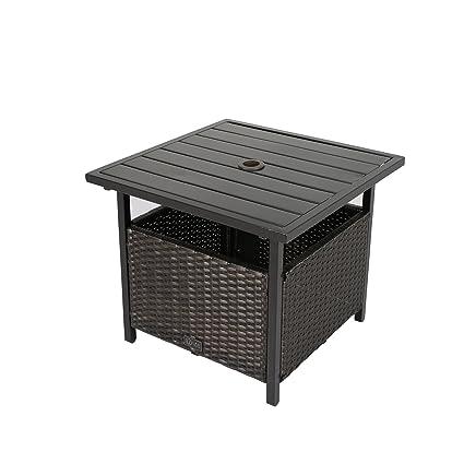Amazon Com Ulax Furniture Patio Outdoor Wicker Umbrella Stand