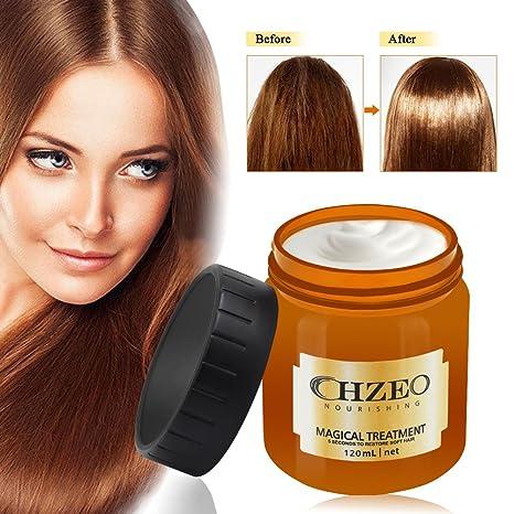 Argania Máscara para pelo, mascara de cabello Profesional,Reparación Profunda reconstructor instantáneo para cabello