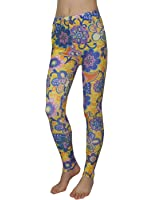 Womens Fashion Floral Print Stretchy Skinny Pants Leggings