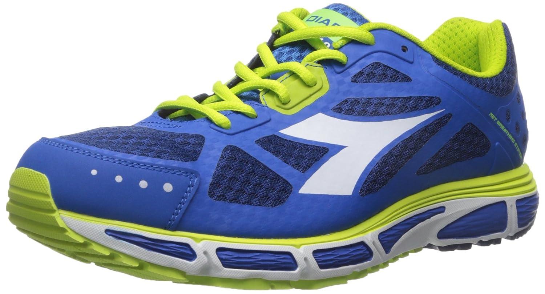 Diadora Men's N-4100-2 Running Shoe B0195FWA7G 10 D(M) US|Classic Navy/Micro Blue