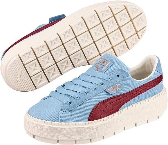puma donna scarpe blu