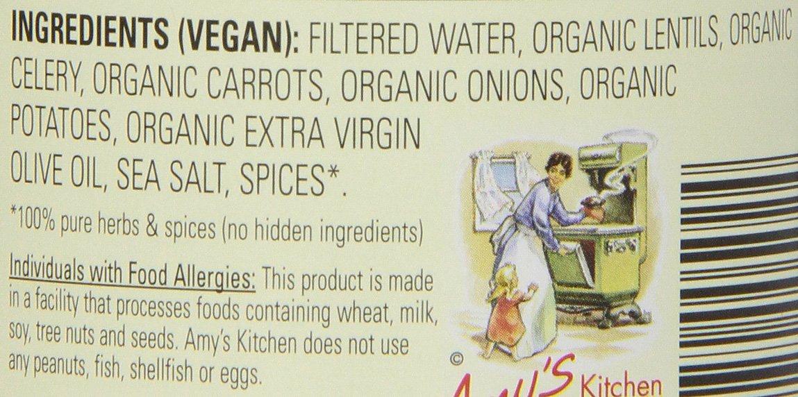 Amy's Soups, Organic Lentil Soup, 14.5 Ounce by Amy's (Image #8)