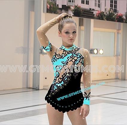 RSG – Traje de gimnasia rítmica acrobática, personalizable ...