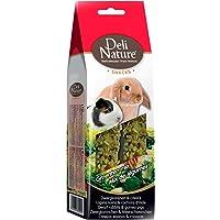 DELINATURE Barritas Mezcla de Verduras para Conejos Enanos y Cobayas