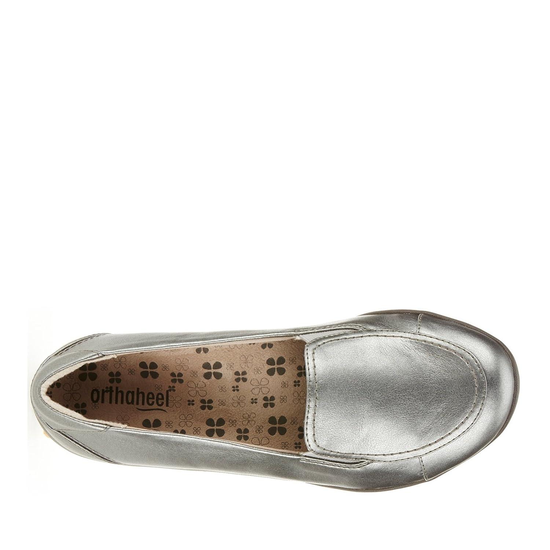 Orthaheel Maddie Mujer Plata Mocasines Zapatos Talla 36 EU Nuevo: Amazon.es: Ropa y accesorios