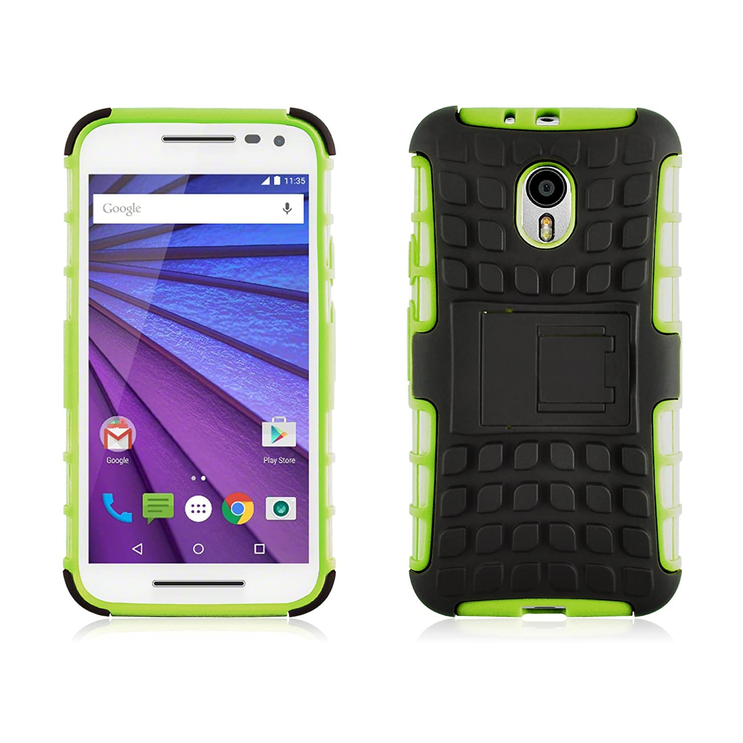 premium selection 70c93 32633 Amazon.com: Moto G3 Case - Alligator Heavy Duty Rugged Back Cover ...