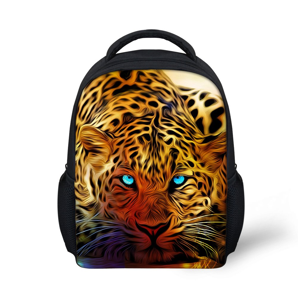 Hoijay Preschool Backpack, Little Kid Backpacks for Boys and Girls Crouching Florida Panther