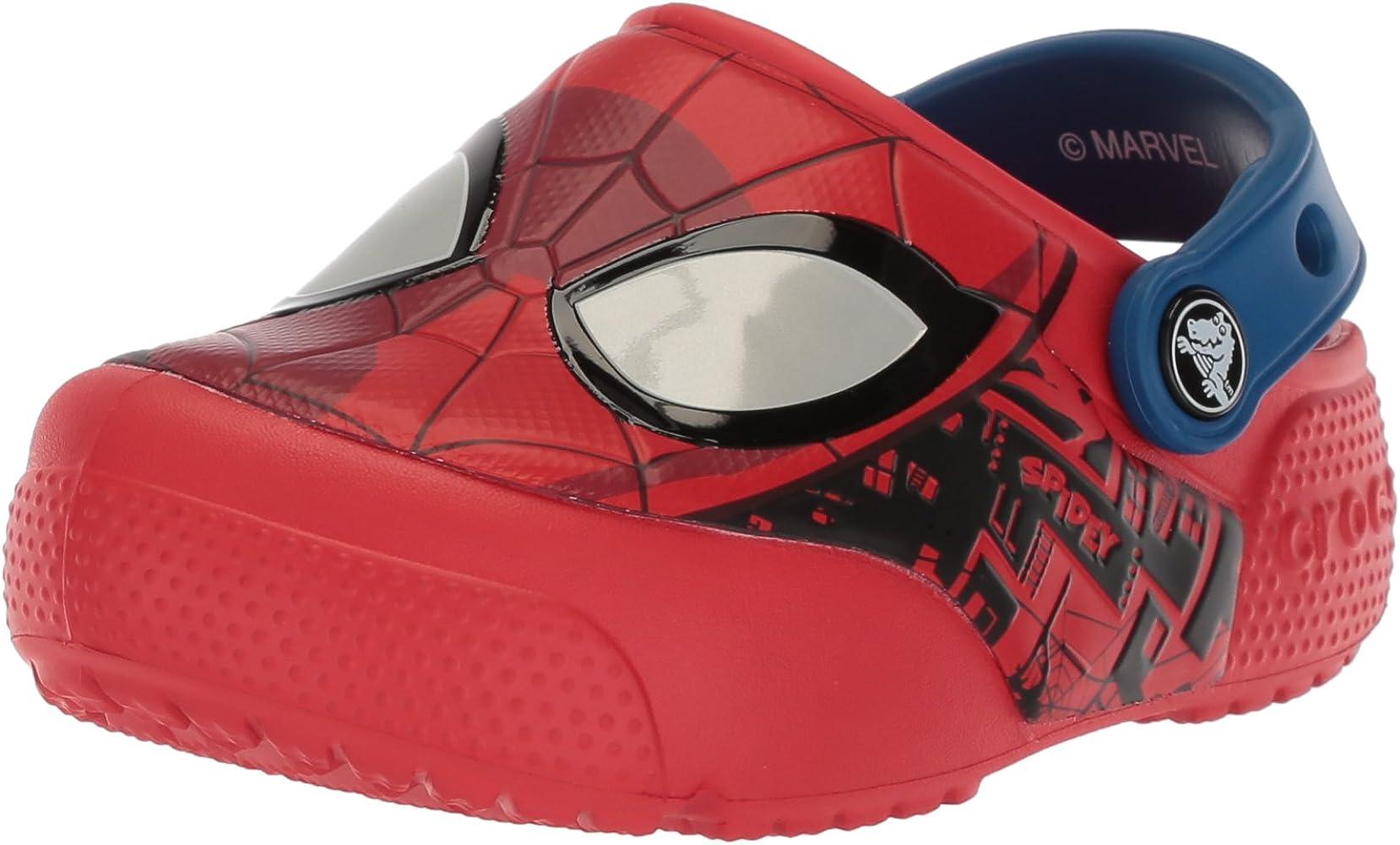 Crocs FunLab SpiderMan Lights Clog Kids