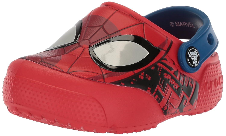 Crocs Kids' Fun Lab Spiderman Light-Up Clog 205018