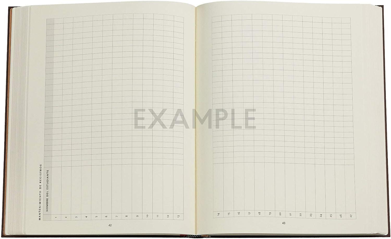 180 /× 230 mm Lehrerkalender Paperblanks 18 Monatskalender Flexi 2020-2021 Softcover Ultra Calypso Schlicht