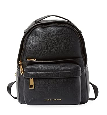 a2ea6c89fa Amazon.com  Marc Jacobs Mini Leather Backpack (Black)  Shoes