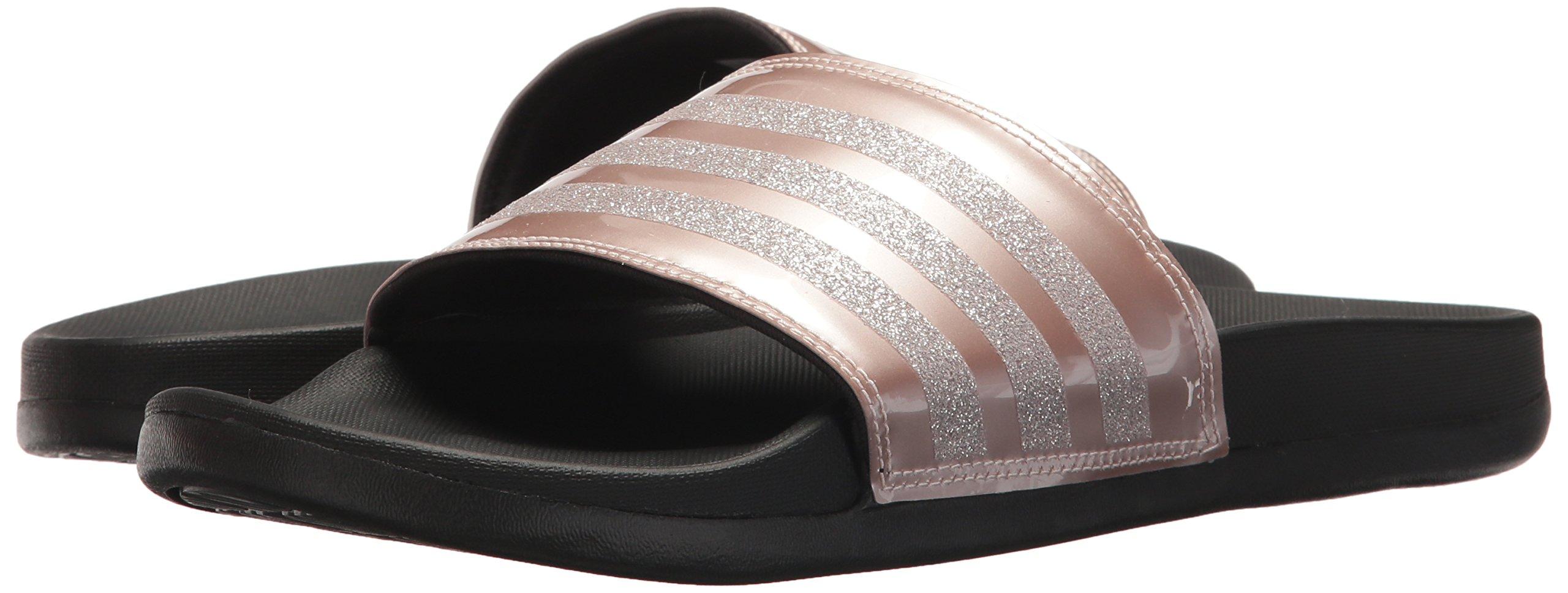 adidas Performance Women's Adilette CF+ Explorer W Sport Sandal, Vapour Grey Met, Vapour Grey Met.Fabric, Core Black, 9 M US by adidas (Image #6)